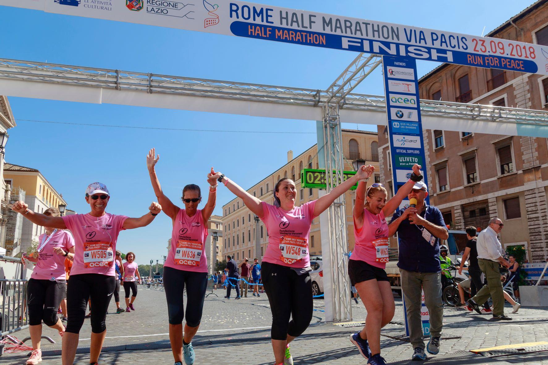 breast cancer marathon run