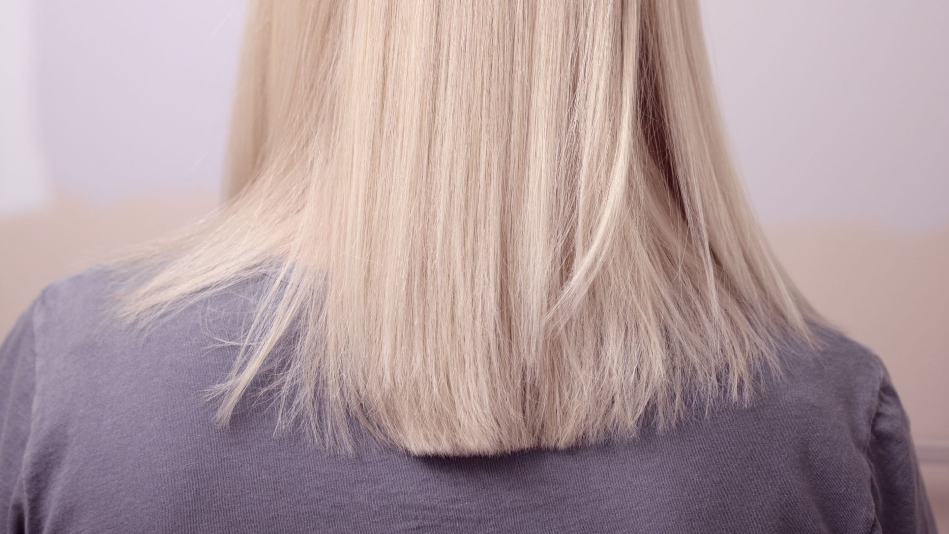 bleached hair example